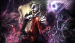 Harley and Joker by LikeItWasOnce