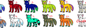 2 Point Canine Adopts by Gravitii