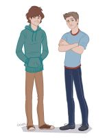 young winchester bros 2.0 by ggns