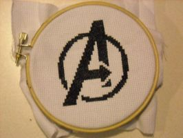 Avengers X Stitch by geek-stitch