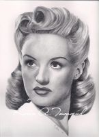 Betty Grable by Karentownsend