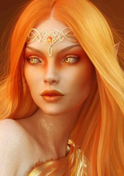 Lady of the Sun by Drakenborg