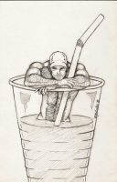 Man In A Cup 2005 by PPPub