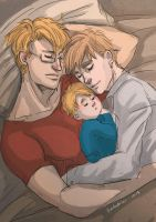 USUK - G'night baby by rosketch