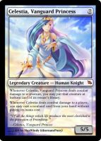 Celestia, Vanguard Princess mtg by alternatepony