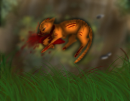 Firestar's last breath by ScreamingFox