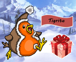Happy Christmas Tigrite! by Trueform