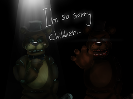 [FNAF] The Tear Of A Robot by JokerSyndrom