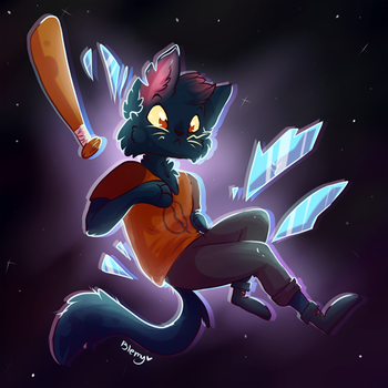 It's Mae! AHHH! by Blemy
