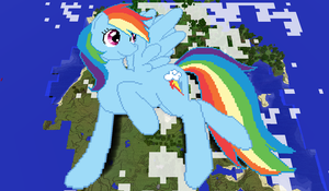 Rainbow Dash Minecraft by TheUnknown644