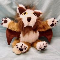 Plush WoW Wind Rider Cub by CreativeCritters