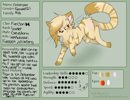 Amberstar Reference by EspeonUmbreonLover