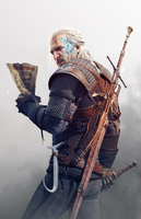 The Witcher 3 Wild Hunt Geralt Contract by Scratcherpen