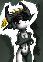Little imp Midna by Aatelismorso