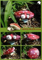 Monty McShroomz Goes 3D by SurrealisticPillow88