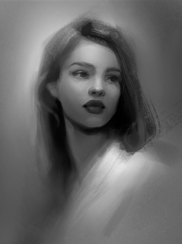 Portrait Study by gabbyd70