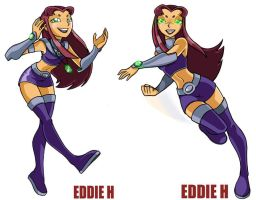 Teen Titans StarFire by EddieHolly