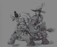 Witch by poibuts