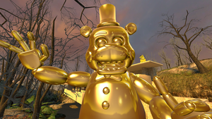 ~The Real Golden Freddy~ by Catty-Mintgum