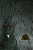 The black rabbit of Inle by Fjodor