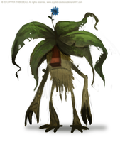 DAY 376. Mandrake Imp by Cryptid-Creations