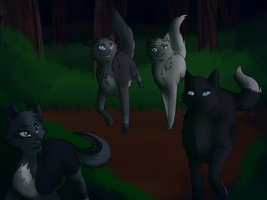 We're the owners of the night by BlueWildfire9