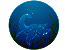 beast in the blue by bugbyte