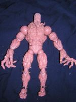 Toxin action figure by ZKULPTOR