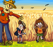 The Case of the Living Scarecrow by Capu-Llama-Spark