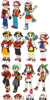 Pokemon Trainers by SmashToons