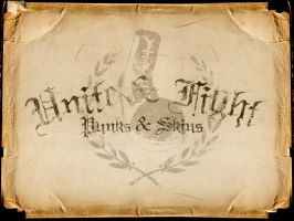 Unite and fight by punks
