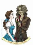 Beauty and the Beast by unconventionalsenshi