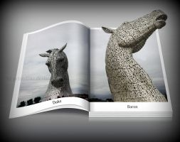 The Kelpies - out of bounds by printsILike