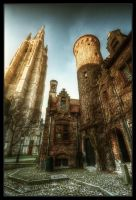 Two Towers by Nichofsky
