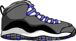 Jordan 10 Custom by kool-fat-kiid
