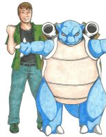 Blastoise Trainer by alchemy2day