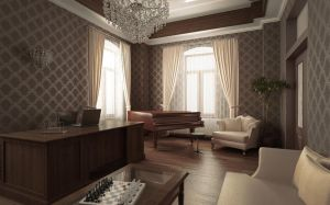 3D classic office by raaab