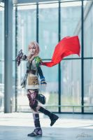 Lightning Cosplay-Still your mind,move on instinct by cyberlight