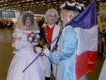 Blessing for the marriage - Japan Expo 2014 by Merietje