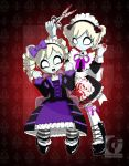 Zombie Makeover :Gothic Lolita by fall0ut4d2