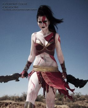 Kratos Genderbend Cosplay by CLeigh-Cosplay