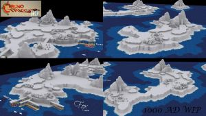 Chrono Trigger HD - 1000 AD wip 02 by FrZnChAoS