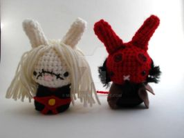 Hellboy and Nuada Moon Buns by MoonYen