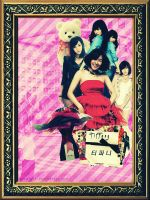 SNSD Collage : Tiffany by GraPHriX