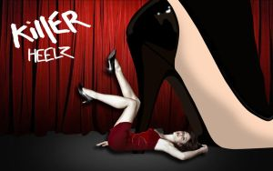 Killer Heels Poster by EatSleepDreamDesign