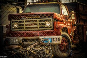 Old Fire Truck by DeoIron