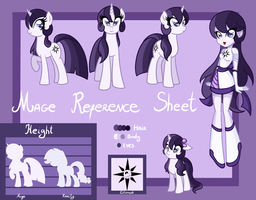 Mage (Aurora Ignite) Reference sheet by LethalAuroraMage