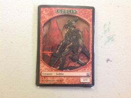3D Goblin Magic Card by XxozzybrookexX
