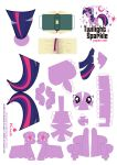 Twilight Sparkle Papercraft by Kna