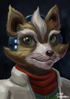 Fox Mccloud's ID picture 16/100 by Markdotea